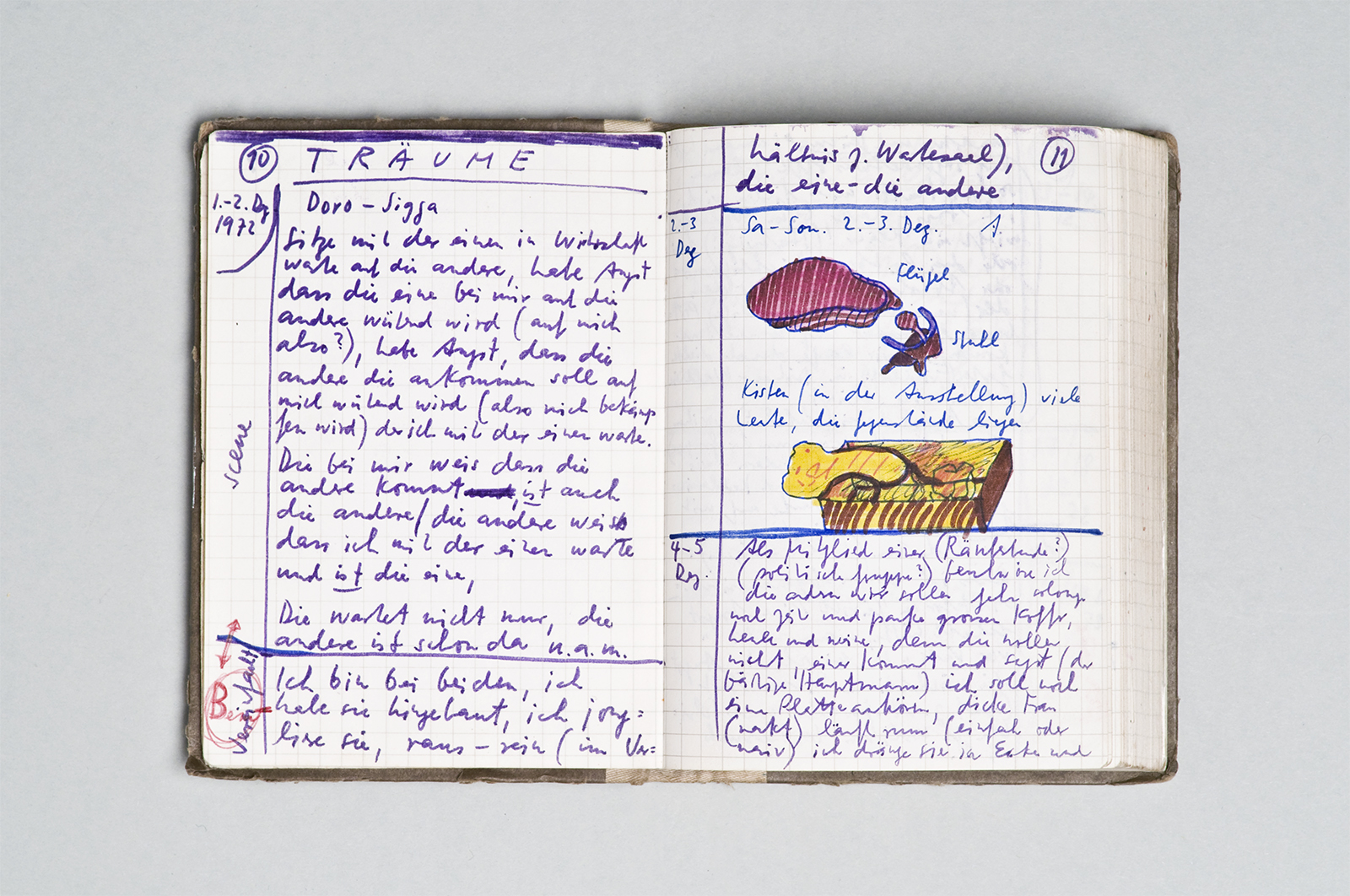 Dieter Roth, Diary – Diario, 1975 | photo: Michael Pfisterer | © Dieter Roth Estate | Courtesy Hauser & Wirth